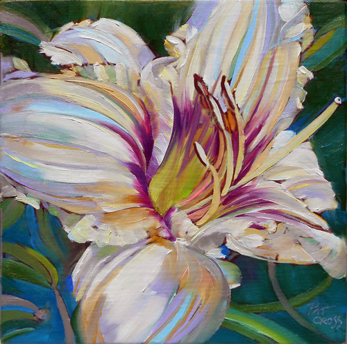 Pandora Lily painting by Pat Cross