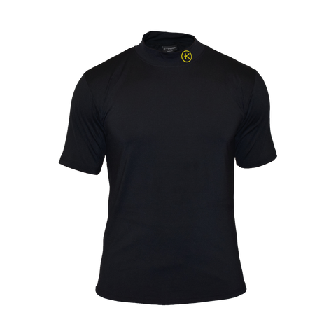 Kymira Golf Mock Turtle Midnight Black