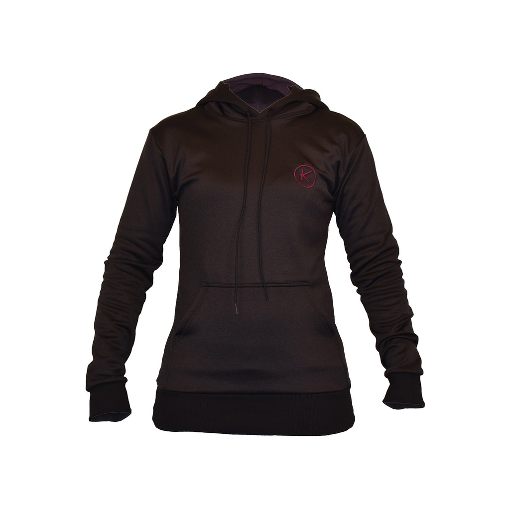 Kymira Women's Gym Hoody Black