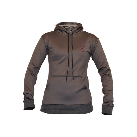 Kymira Women's Gym Hoody Grey