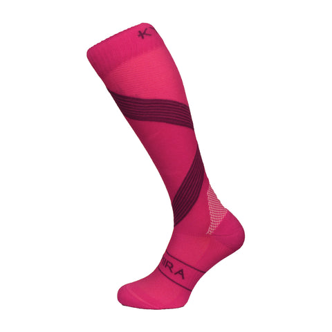Kymira Infrared Compression Socks Pink & Purple