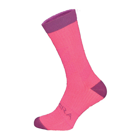 Kymira Infrared Crew Socks Pink & Purple