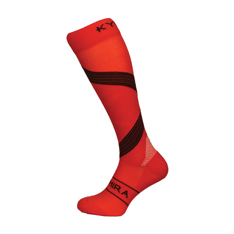 Kymira Infrared Compression Socks Red & Black