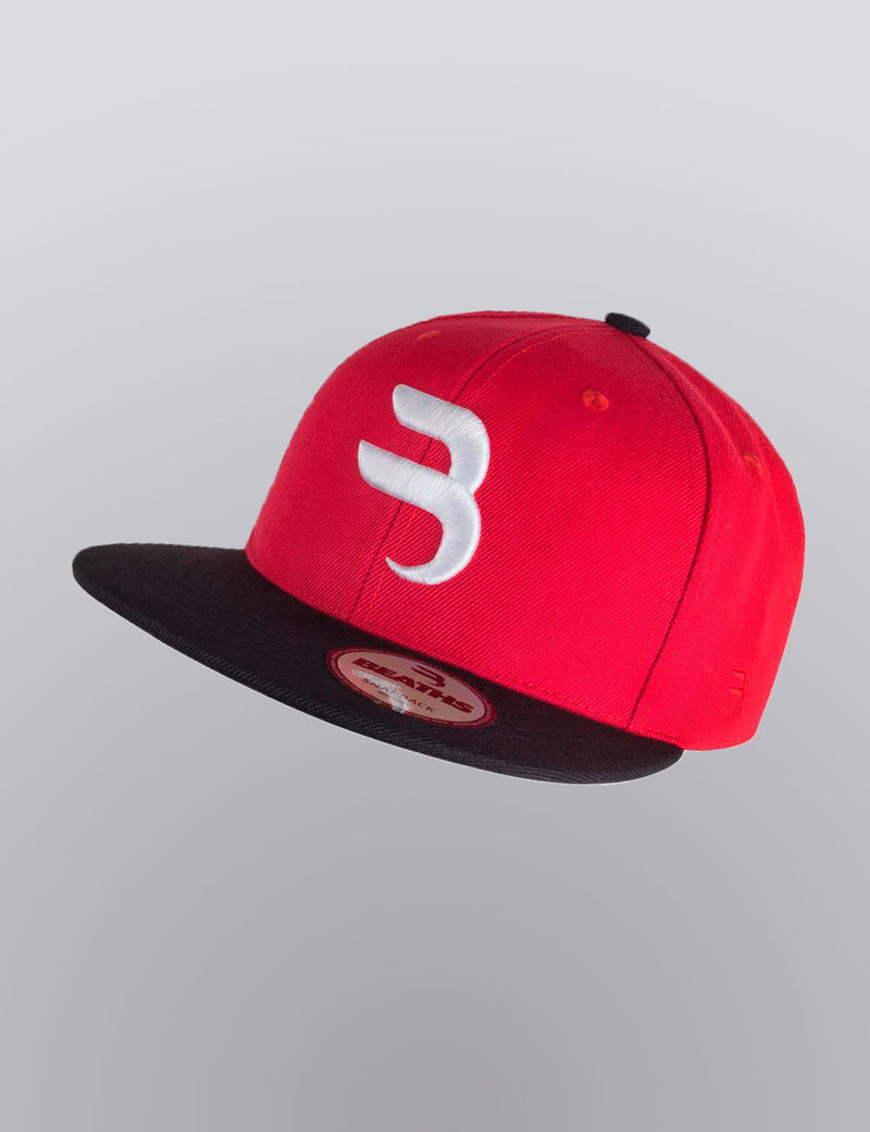 Red Urban Light Snapback