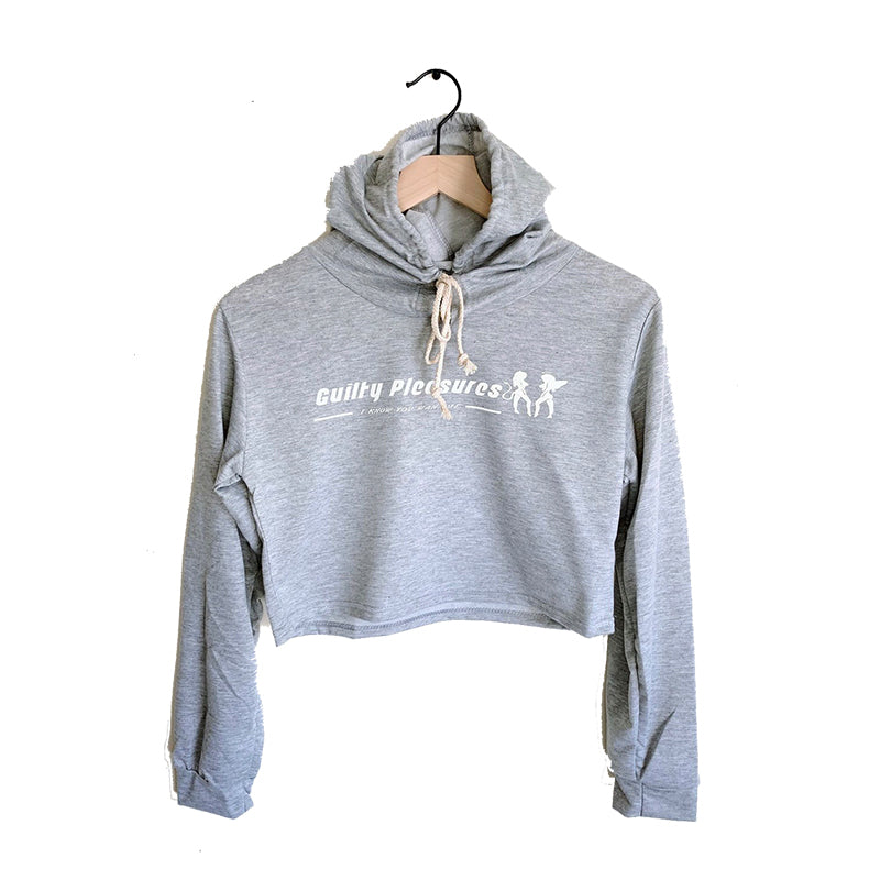 3M GUILTY PLEASURES CROPPED HOODIE