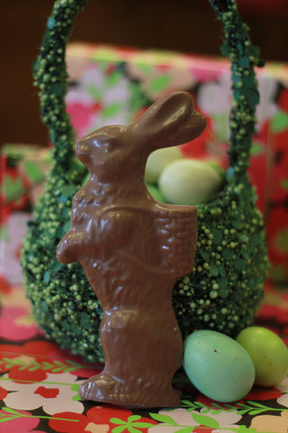 Solid Chocolate Bunny - Large