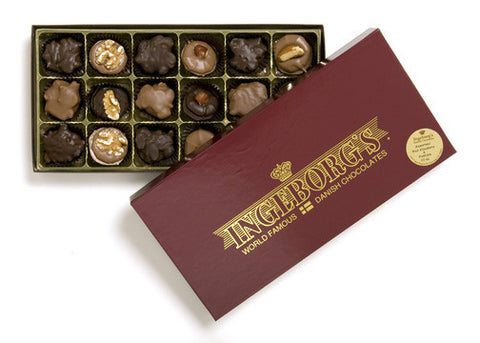 Assorted Chocolate Nut Cluster 13 oz.