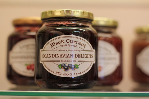Black Currant Fruit Spread