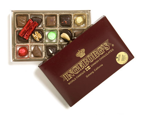 1/2 Pound Assorted Dessert Chocolates -No Marzipan