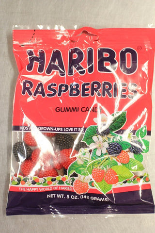 HARIBRO RASPBERRIES 5 OZ.