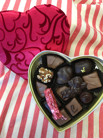 Assorted Dessert Chocolates-Valentine Box