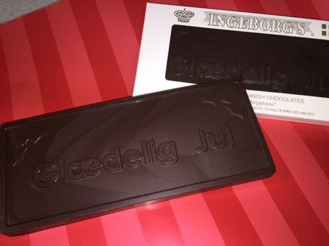 GLAEDELIG JUL CHOCOLATE BAR