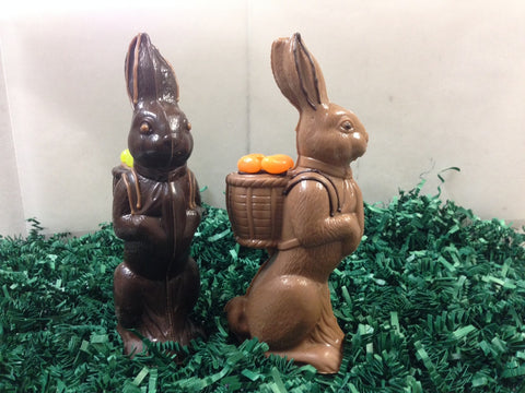 Standing Chocolate Bunny