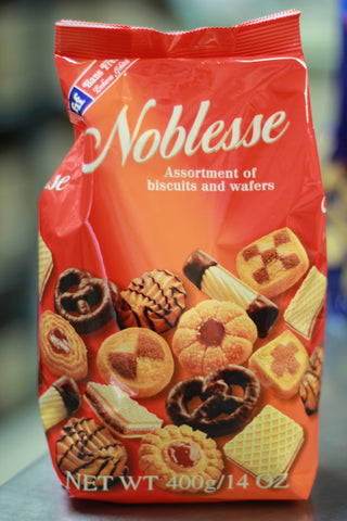 NOBLESSE BISCUITS & WAFERS  14 OZ.