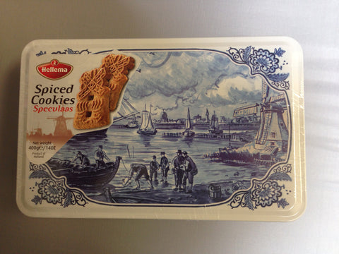 Spiced Cookies-Speculaas Tin 14 oz.