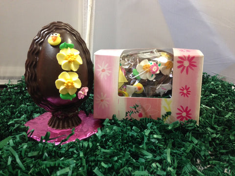 Small Chocolate Egg 1/2 lb.