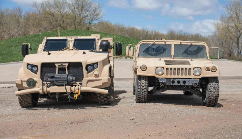 AFLCMC working to replace up-armored Humvees