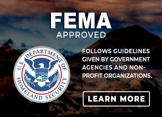 Fema Compliant Emergency Preparedness Kits