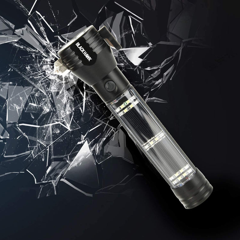 Guardian Light™ Solar Roadside Tactical Flashlight