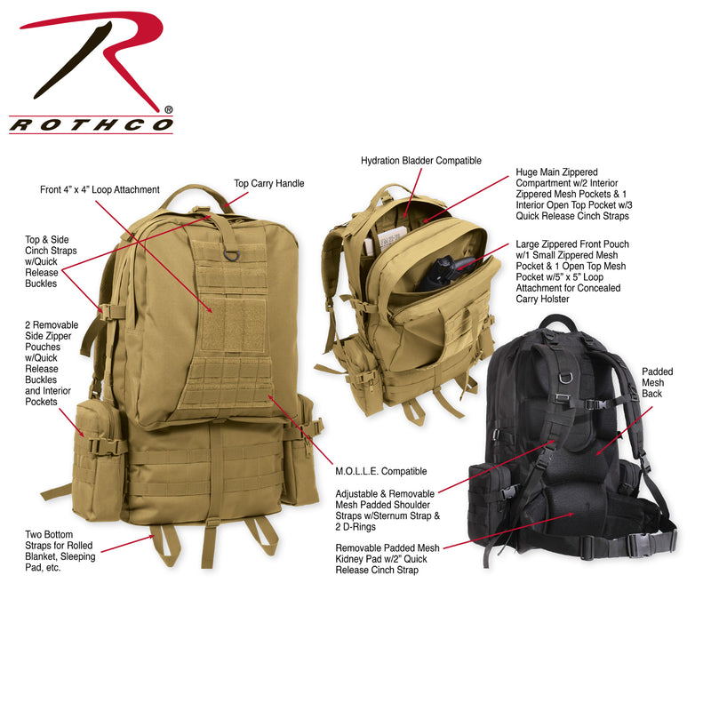 Rothco Global Assault Pack
