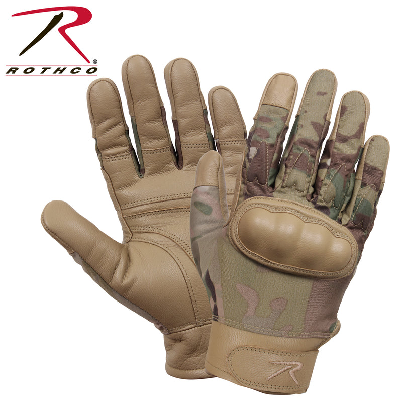 Rothco Hard Knuckle Cut and Fire Resistant Gloves