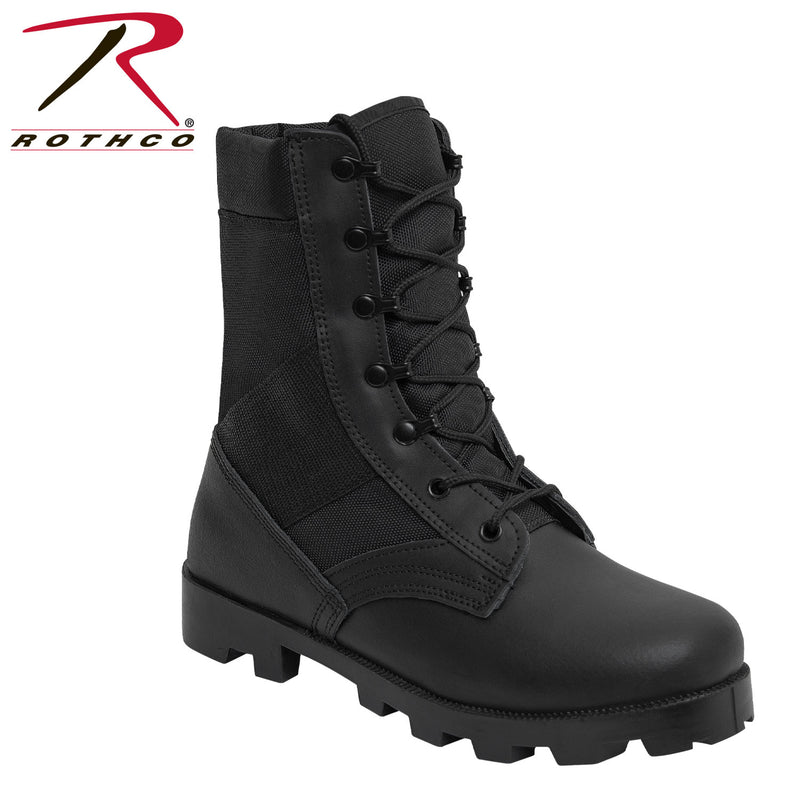 Rothco Black G.I. Type Speedlace Jungle Boots