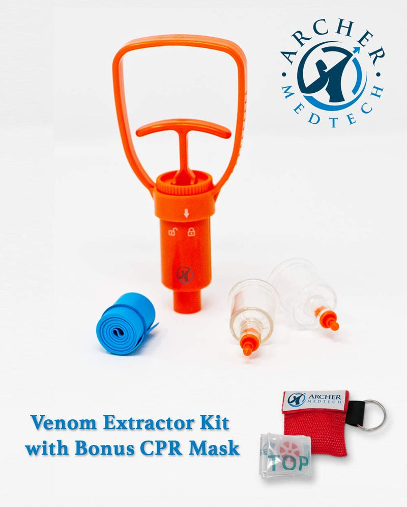 Black Hawk Survival Emergency Venom Extractor Tool Kit