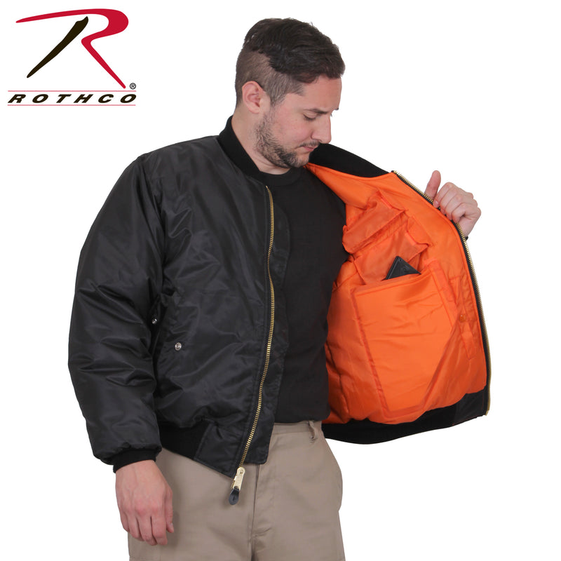 Rothco Concealed Carry MA-1 Flight Jacket
