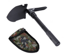 Tactical Multi-Purpose Jet Black Military Folding Shovel