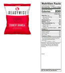 (240 Servings) Entrée and Breakfast Emergency Food Supply