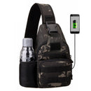Black Hawk Multifunction USB Support Tactical Military Camo Backpack