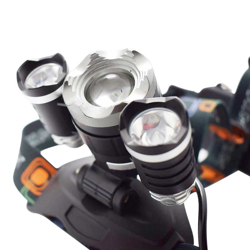 Black Hawk Triple LED Power Searchlight Headlamp Kit
