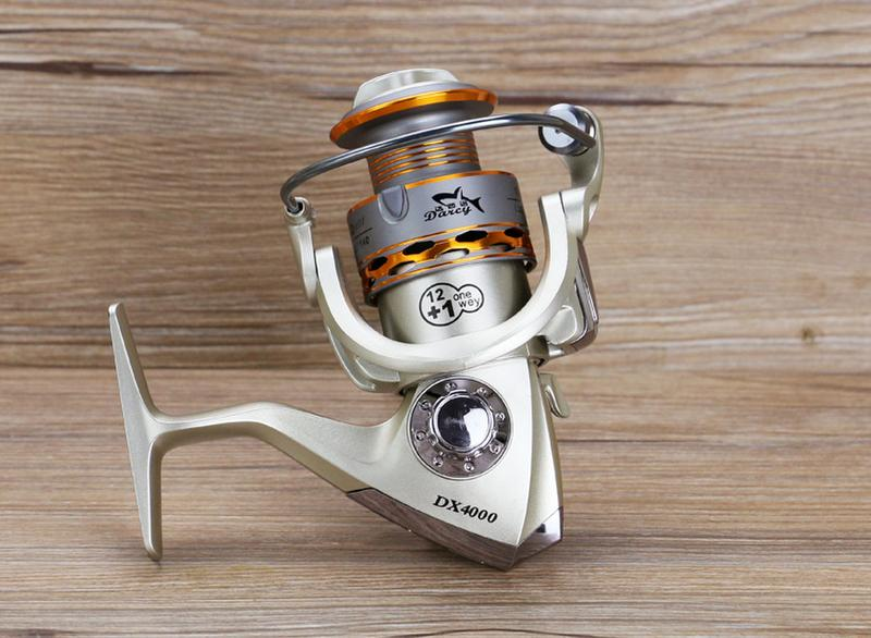 Reel Fishing Coil Wooden Handshake 12+ 1BB