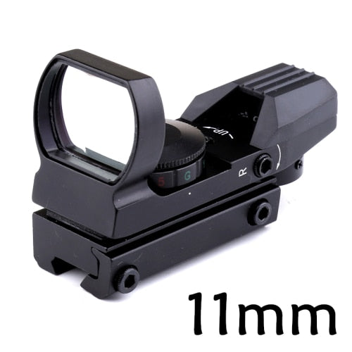 Black Hawk Aluminum Tactical 20mm/11mm Rail Riflescope