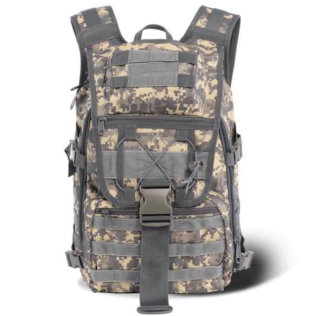 WAR GROUND Military 1000D Nylon 40L Tactical Backpack