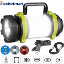 Multifunction Rechargeable Searchlight LED Emergency Flashlight