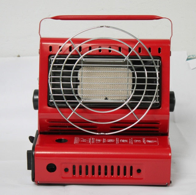 Outdoor Camping Dual-Purpose Use Stove Heater Iron