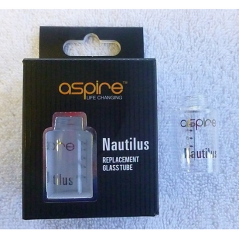 Aspire Nautilus Glass Tank - Mac Vapes - 1