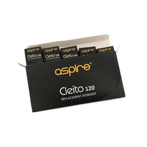 Aspire Cleito 120 Coils 5/Pack - Mac Vapes