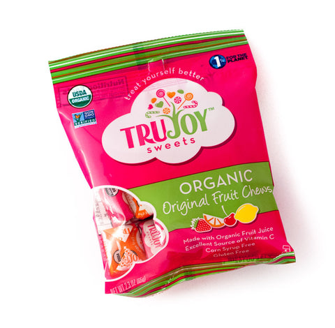 TruSweets TruJoy Organic Fruit Chews 2.3 oz