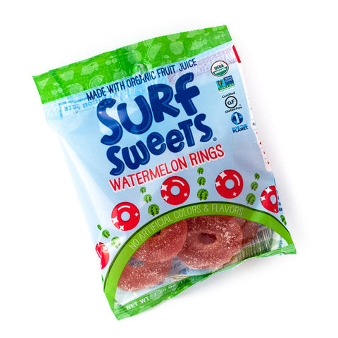 TruSweets Surf Sweets Watermelon Rings