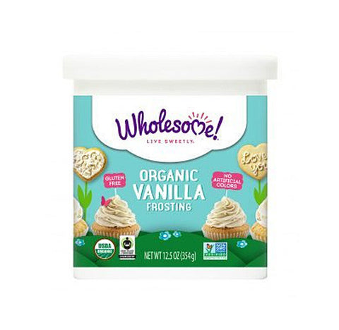 Wholesome! Sweeteners Organic Frosting - Vanilla 12.5oz
