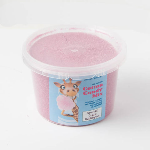 Cotton Cravings Cotton Candy - Grape Bubblegum Sugar 1lbs