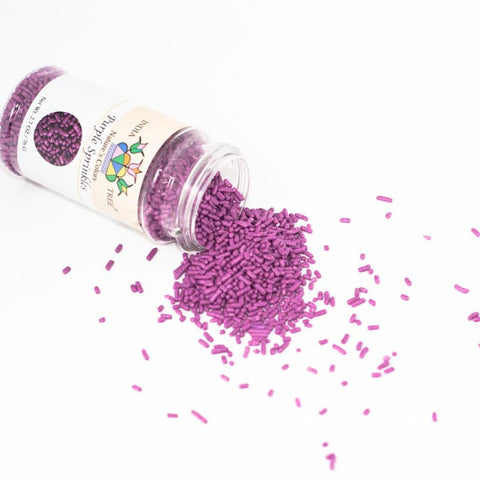 India Tree Purple Sprinkles