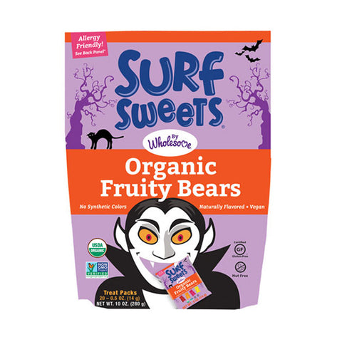 TruSweets Surf Sweets Organic Fruity Bears Halloween Pack