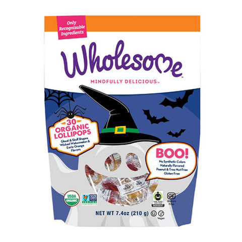 Surf Sweets Orgainc Lollipop Halloween Treat Pack