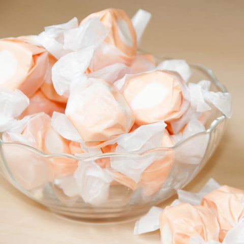 Sweets Candy Orange and Vanilla Taffy