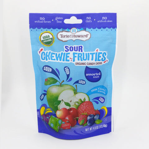 Torie and Howard Fruit Chews Sours - Assorted Flavors