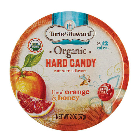 Torie and Howard Hard Candy Tins - Blood Orange and Honey