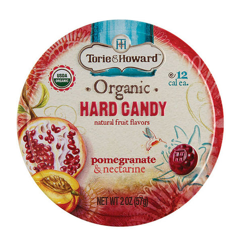 Torie and Howard Hard Candy Tins - Pomegranate and Nectarine